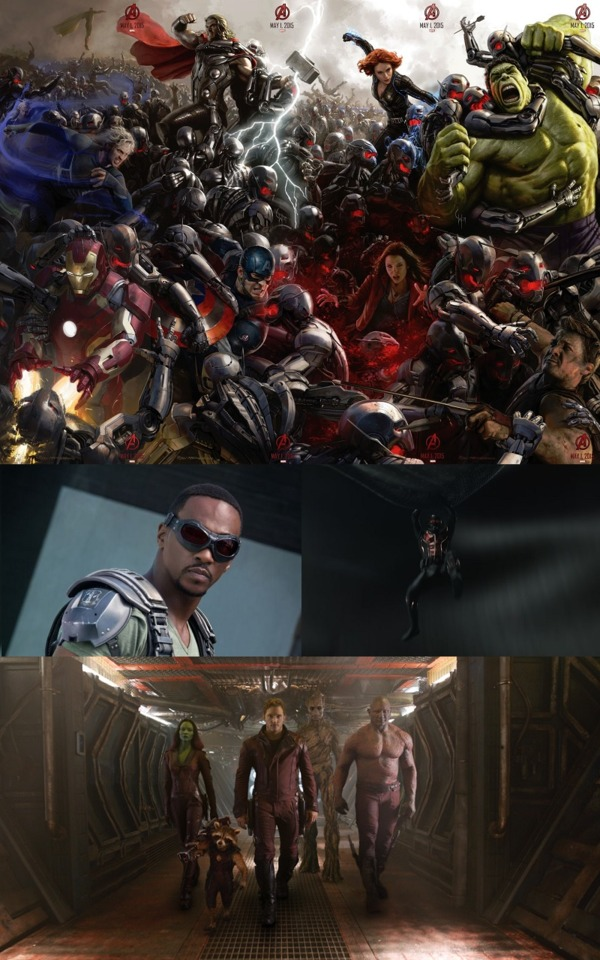 Phase Two saw the return of the Avengers, as well as the debut of several new heroes
