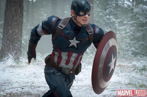 Captain America in the Avengers sequel
