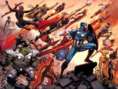 The expanded Avengers line-up