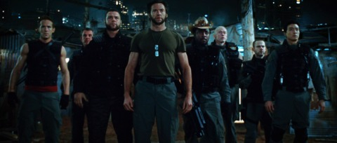 Team X in the movie