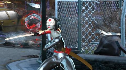 Katana in Infinite Crisis