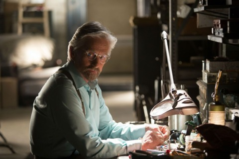 Michael Douglas as Hank Pym