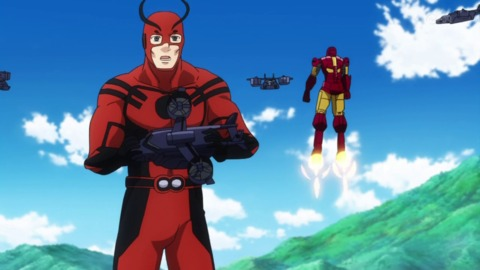 Giant-Man in the anime