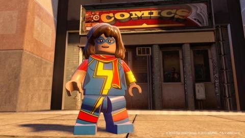Lego Ms. Marvel