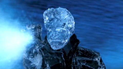 The older Iceman in DOFP