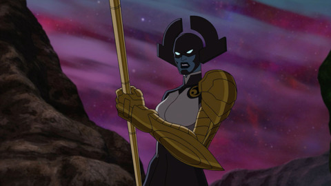 Proxima Midnight in the animated series