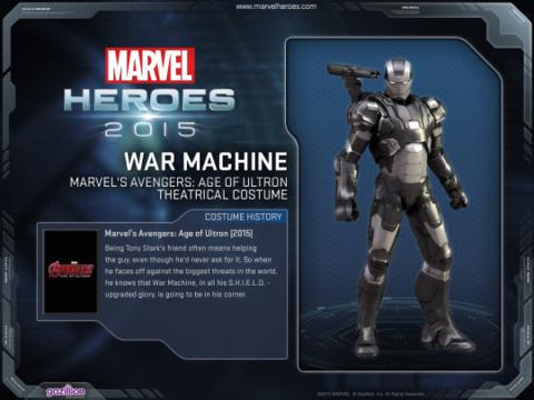 War Machine in Marvel Heroes