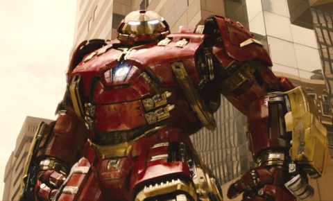 The Hulkbuster in the film