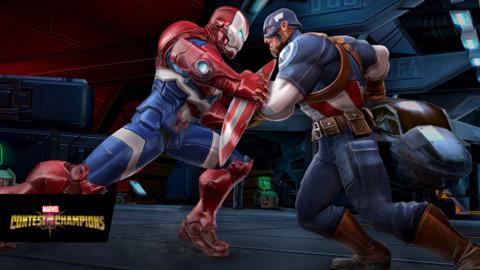 WWII Cap vs. Iron Patriot
