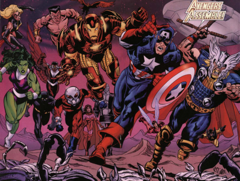 The Avengers of the United Nations era