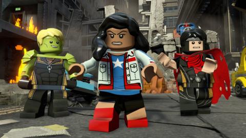 America Chavez in Lego Marvel´s Avengers