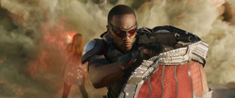 Falcon in Civil War
