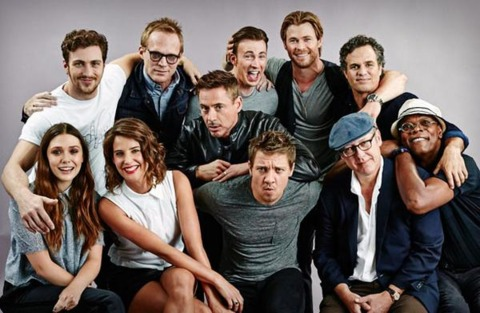 The cast of Age of Ultron
