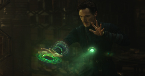 The Time Stone encased in the Eye