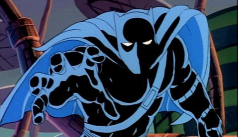 Black Panther in the FF animated series