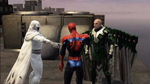 Moon Knight in Web of Shadows