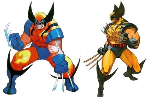 Wolverine and Bone Claw Wolverine