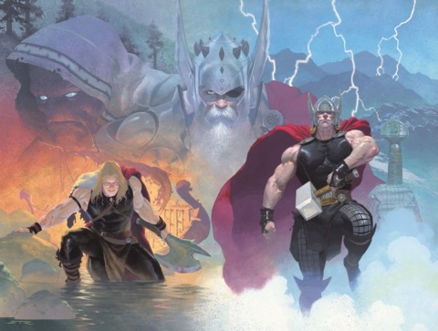 Thor encounters Gorr at various points in his life
