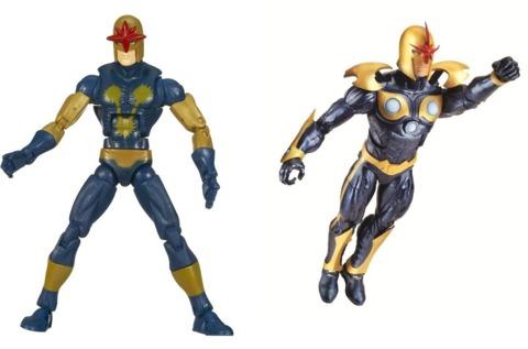 The Marvel Legends figures