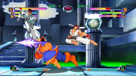Thanos vs. Ryu and Jin