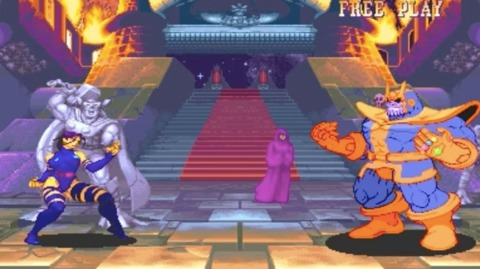 Thanos' first video game appearance