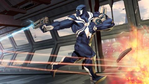 Agent Venom as a cosmic hero