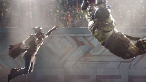 Hulk vs. Thor on Sakaar