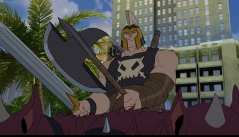 Ares in Avengers Assemble