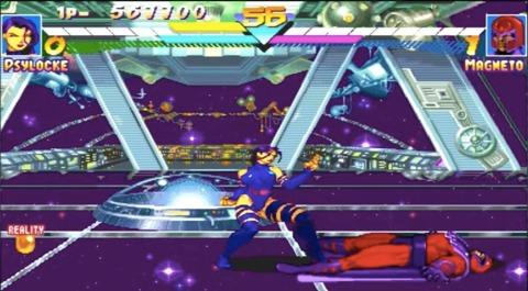 Asteroid M in Marvel Super Heroes