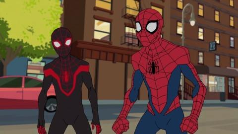Miles in Marvel's Spider-Man