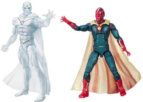 Two Marvel Legends figures
