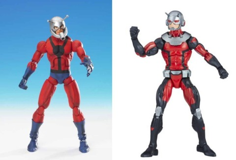 Marvel Legends figures by ToyBiz and Hasbro