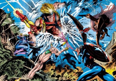 The Avengers make the ultimate sacrifice