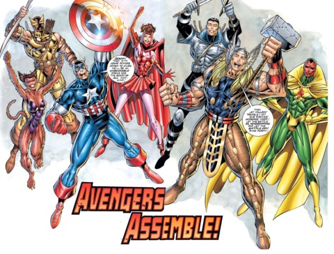 The rebooted Avengers