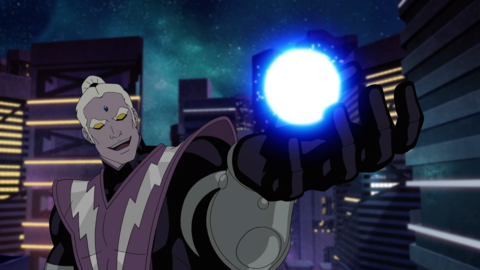 Magus in the animated series