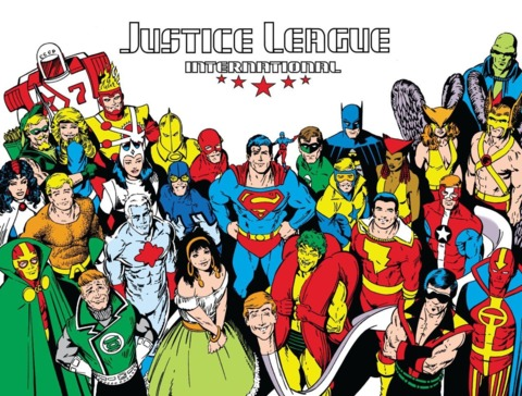 Captain Marvel as part of the Justice League