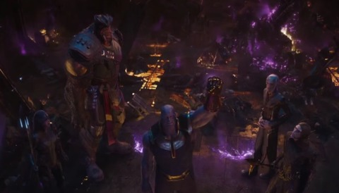 The Black Order in the film