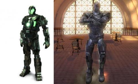 Titanium Man in the movie game and UA 2