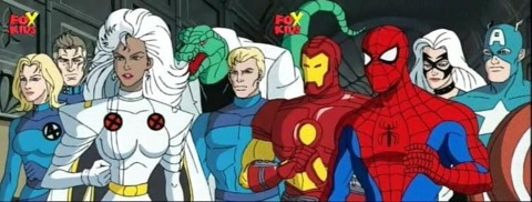 Captain America in Spider-Man: The Animated Series