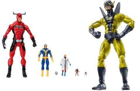 The SDCC set and Marvel Legends Yellowjacket