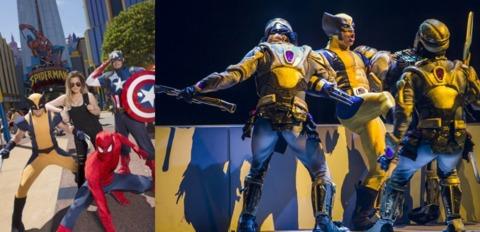 Universal Studios and Marvel Live