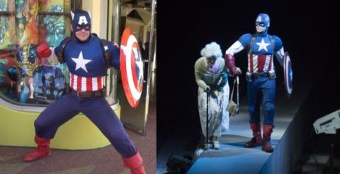 Universal Orlando and Marvel Live