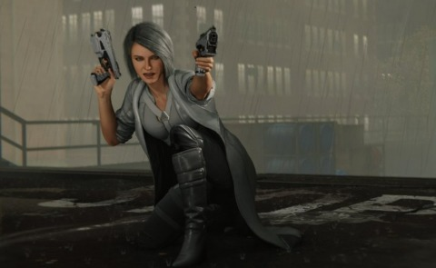 Silver Sable in the PS4 game