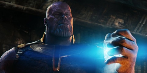 Thanos in Infinity War