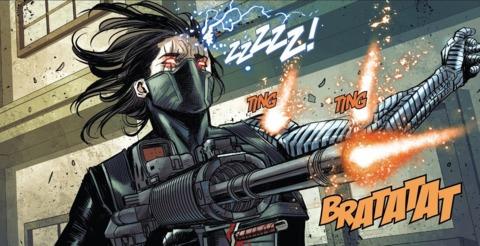 Winter Soldier vs. Bullseye