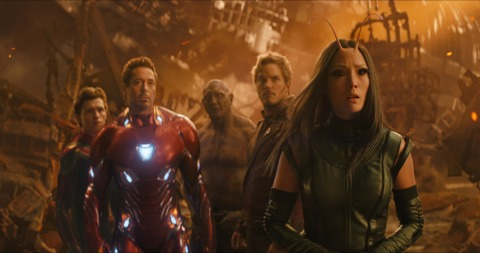 The Guardians and The Avengers
