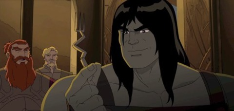 Skaar in the cartoon