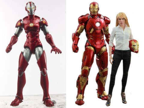 Marvel Legends and Hot Toys