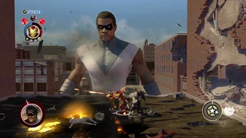 Goliath in Ultimate Alliance 2
