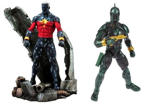 Marvel Select and Marvel Legends